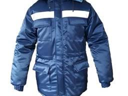 Куртка рабочая утепленная Спец темно-синяя