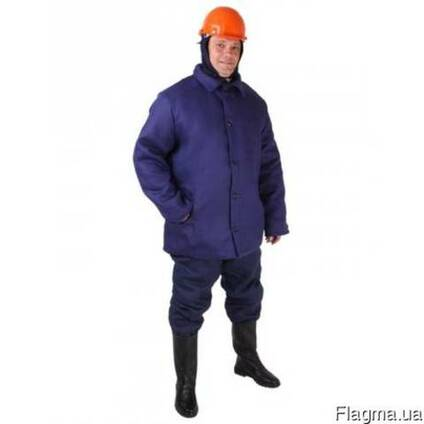 Ватная куртка хб Диагональ