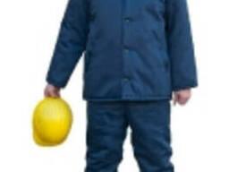 Куртка рабочая, утепленная, ткань гретта с ВО пропиткой