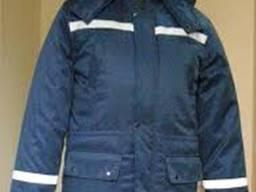 Куртка рабочая утепленная удлиненная с свп