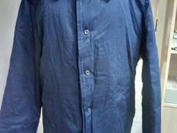 Куртка рабочая ватная ткань грета синяя