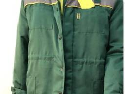 Куртка рабочая зелёная