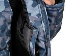 Куртка рабочая зимняя камуфляж Alases размер 48-50, рост 182-188 BLUE