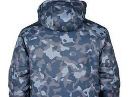 Куртка рабочая зимняя камуфляж Alases размер 64-66, рост 182-188 BLUE