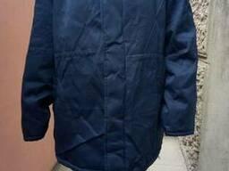 Куртка рабочая зимняя на ватине(изготовление логотипов)