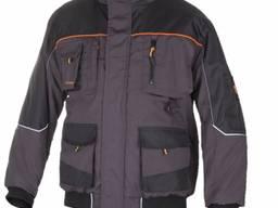 Куртка рабочая зимняя укороченная ARTMAS CLASSIC WIN SHORT/100% полиэстер. Цвет:Черный