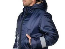 Куртка рабочая зимняя USER Оксфорд СВП лента размер 48-50 рост 170-176 см