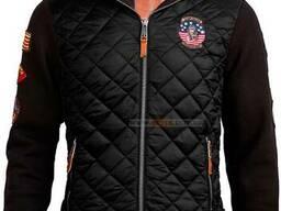 Куртка-реглан Top Gun Quilted Fleece Hoodie with Patches