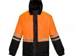 Куртка сигнал-1 оранжевый-черный