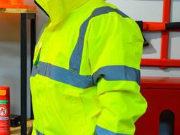 Куртка сигнальна жовта водовідштовхувальна Coverguard Soukou