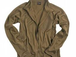 Куртка флисовая легкая Mil-Tec койот