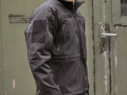 Куртка Mil-Tec Prof. Softshell черная