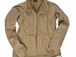 Куртка Mil-Tec Prof. Softshell койот