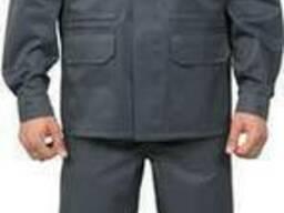 Куртка 'Специалист', цвет серый, грета ЧШК