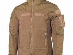 Куртка тактическая MFH Combat флисовая койот