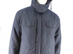 Куртка темно-синяя без манжетов