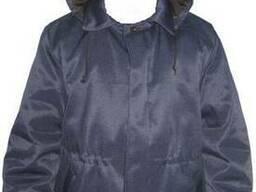 Куртка с кулиской для грузчиков зимняя