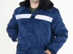 Куртка утеплена з коміром і капюшоном