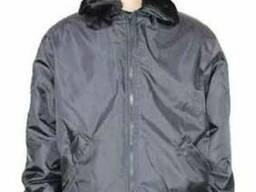 Куртка утепленная черная
