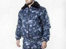 Куртка утепленная для охраны Город