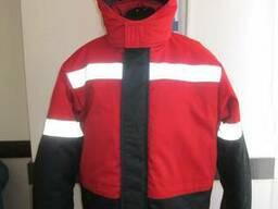Куртка утепленная для заправщика, униформа для строителя