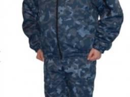 Куртка утепленная 'Дозор' флис, с отстегивающимся воротник