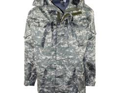 Куртка утепленная камуфлированная на флисе цвет acupat