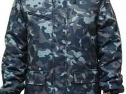 Куртка утепленная камуфляж город