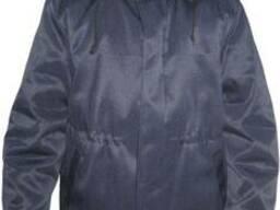 Куртка ватная с капюшоном, рабочёя, тёплая спецодежда
