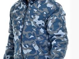 Куртка утепленная на резинке с застежкой на молнии