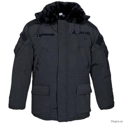 Куртка утеплённая для охранных структур.