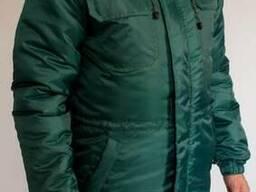 Куртка утепленная - отличный вариант рабочим согреться зимой