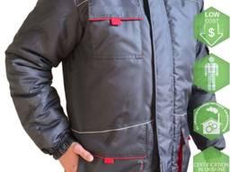 Куртка утепленная рабочая Фриворк , серая