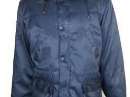Куртка утепленная рабочая Метелиця с меховым воротом