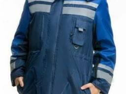 Куртка утепленная с СВП полосами, пошив на заказ