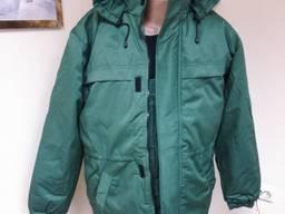 Куртка утепленная рабочая зеленая утепленная спецодежда