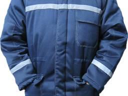 Куртка утепленная с светоотражающей полосой