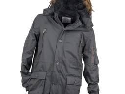 Куртка утепленная, серая