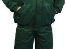 Куртка утепленная, подкладка флис, зимняя спецодежда