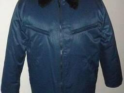 Куртка утепленная, спецодежда для охранных структур