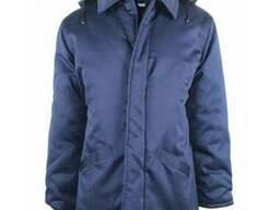 Куртка модельная темно-синяя