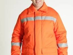 Куртка рабочая зимняя Энергетик, сигнальная спецодежда