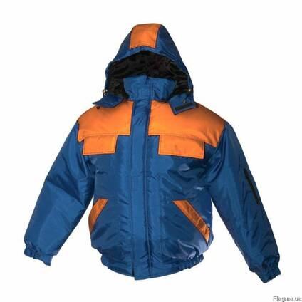 Куртка утепленная, зимняя, рабочая, мужская, женская, оксфорд,