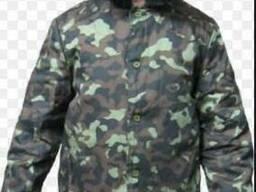 Куртка ватная Фуфайка камуфляж