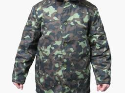 Куртка ватная камуфлированная