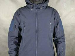 Куртка / ветровка Pave Hawk Softshell navy blue (темно-синий) Xxxxxl Pave Hawk (Видео)