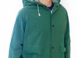 Куртка влагозащитная ПВХ зеленая