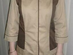 Куртка женская, куртка уборщицы, куртка гувернантки