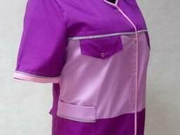 Куртка женская поварская, куртка повара, китель женский