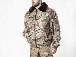 Куртка зимняя Пилот-МК мультикам